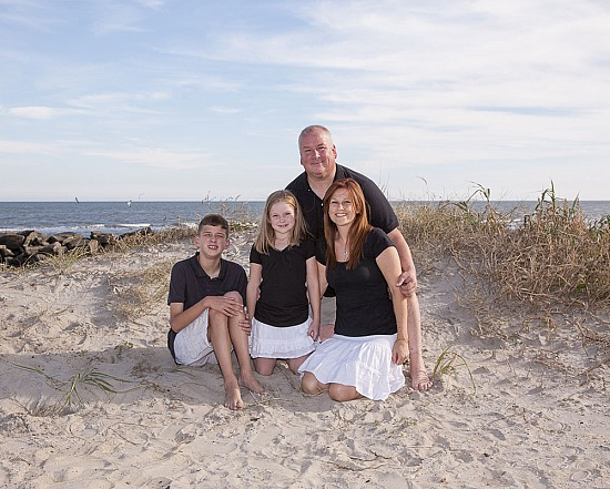 Families On The Beach Portraits...